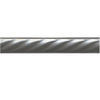Somerset Collection 10-Pack Somerset Bright Nickel Metal Tile Liner (Common: 1-in x 6-in; Actual: 1-in x 5.94-in)