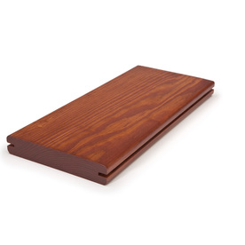 Perennial Wood 1-1/4 x 6 x 16 Redwood Modified Wood Alternative Decking