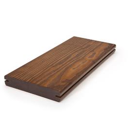 Perennial Wood 1-1/4 x 6 x 16 Mahogany Modified Wood Alternative Decking