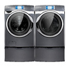 Samsung 4.5-cu ft High-Efficiency Stackable Front-Load Washer with Steam Cycle (Onyx) ENERGY STAR