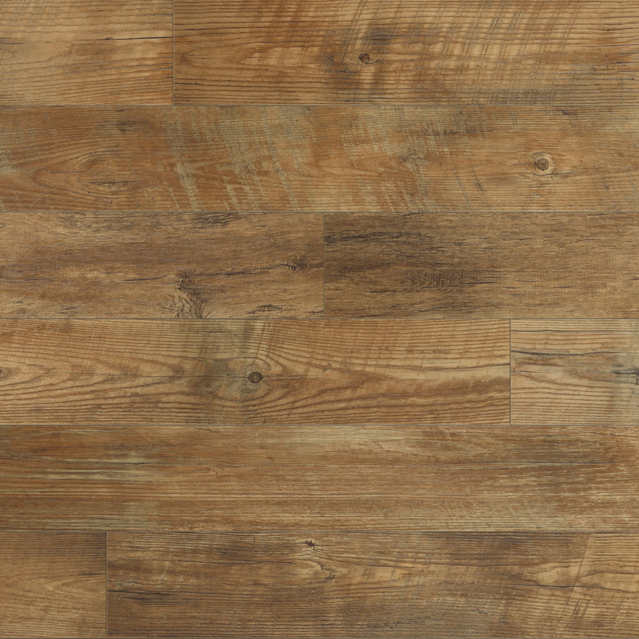 Shop stainmaster 12 ft w huntington coffee wood low gloss for Vinyl hardwood flooring