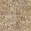 STAINMASTER 12-ft W Bayridge Sediment Tile Low-Gloss Finish Sheet Vinyl