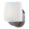 Access Lighting 6-in W Sophia 1-Light Satin Arm Wall Sconce
