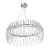 Access Lighting 20-Light Perseus Chrome Crystal Accent Chandelier
