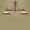 Livex Lighting Villa 13-in W 2-Light Verona Bronze Kitchen Island Light with Shade