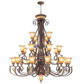 Livex Lighting 24-Light Villa Verona Verona Bronze Chandelier