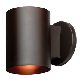 Access Lighting Poseidon 6-in Bronze Outdoor Wall Light