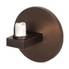 Access Lighting 4-1/4-in W Mirage Bracket 1-Light Bronze Arm Wall Sconce