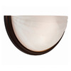Access Lighting 13-in W Crest 1-Light Oil-Rubbed Bronze Pocket Wall Sconce