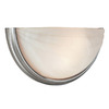Access Lighting 13-in W Crest 1-Light Satin Pocket Wall Sconce
