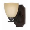 Triarch International 5-in W Value Series 240 1-Light English Bronze Arm Wall Sconce
