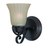 Triarch International 5-in W Value Series 270 1-Light Bronze Arm Wall Sconce