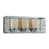 Triarch International 21-in W Contempo 1-Light Chrome Pocket Wall Sconce