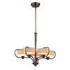 Thomas Lighting 5-Light Tarragon Sienna Bronze Chandelier