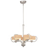Thomas Lighting 5-Light Tarragon Brushed Nickel Chandelier