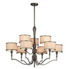 Thomas Lighting 9-Light Gramercy Park Oil-Rubbed Bronze Chandelier