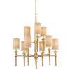 Thomas Lighting 9-Light Allure Couture Gold Chandelier