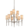 Thomas Lighting 9-Light Allure Brushed Nickel Chandelier