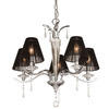 Thomas Lighting 5-Light Jacqueline Chrome Crystal Accent Chandelier