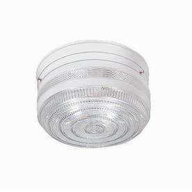 Thomas Lighting 11-in W White Ceiling Flush Mount