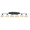 Thomas Lighting 6-Light Prestige Sable Bronze Bathroom Vanity Light