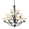 Thomas Lighting 18-Light Prestige Sable Bronze Chandelier