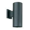 Thomas Lighting Turtle 12-in Black Outdoor Wall Light