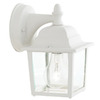 Thomas Lighting 8-1/2-in White Outdoor Wall Light
