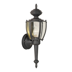 Thomas Lighting Park Avenue 17-1/2-in Painted Bronze Outdoor Wall Light