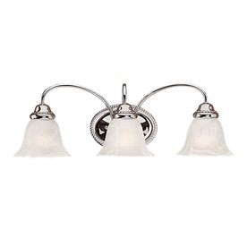Millennium Lighting 3-Light Chrome Standard Bathroom Vanity Light