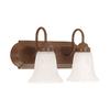 Millennium Lighting 2-Light Bronze Standard Bathroom Vanity Light