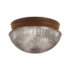 Millennium Lighting 7-1/2-in Bronze Ceiling Flush Mount