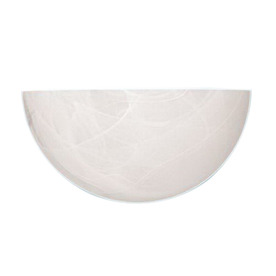 Millennium Lighting 10-in W 1-Light White Pocket Hardwired Wall Sconce