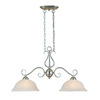 Millennium Lighting Manchester 2-Light Satin Nickel Island Light