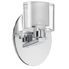 Dainolite Lighting 3-1/2-in W 1-Light Polished Chrome Arm Wall Sconce