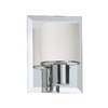 Dainolite Lighting 5-in W 1-Light Polished Chrome Arm Wall Sconce