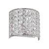 Dainolite Lighting 6-in W 1-Light Polished Chrome Pocket Wall Sconce