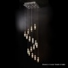 Trend Lighting 16-Light Icarus Polished Chrome Chandelier