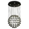 Trend Lighting 19-1/2-in W Constellation Polished Stainless Steel Pendant Light