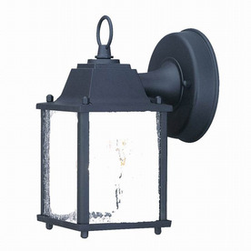 Acclaim Lighting Builders Choice 8-in Matte Black Outdoor Wall Light