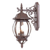 Acclaim Lighting Chateau 21-in Burled Walnut Outdoor Wall Light
