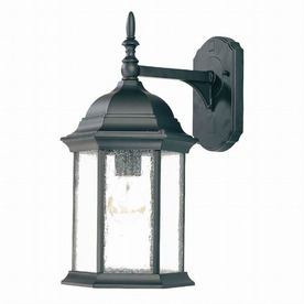 Acclaim Lighting Craftsman 16-1/2-in Matte Black Outdoor Wall Light