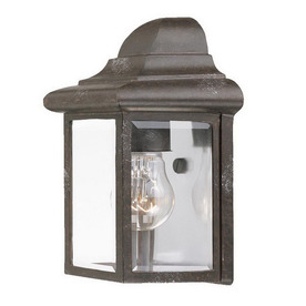 Acclaim Lighting 8-3/4-in Marbleized Mahogany Outdoor Wall Light