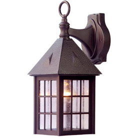 Acclaim Lighting Outer Banks 16-in Architectural Bronze Outdoor Wall Light