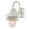 Acclaim Lighting Mariner 13-in Textured White Outdoor Wall Light