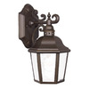 Acclaim Lighting Beaufort 11-1/2-in Architectural Bronze Outdoor Wall Light