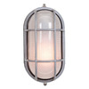 Access Lighting Nauticus 6-3/4-in Satin Outdoor Wall Light