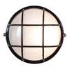 Access Lighting Nauticus 10-in Black Outdoor Wall Light