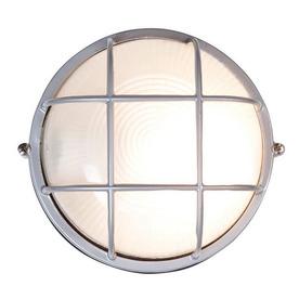 Access Lighting Nauticus 10-in Satin Outdoor Wall Light