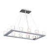 PLC Lighting Glacier 12-Light Polished Chrome Chandelier